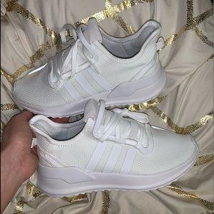"Adidas women's 7.5 white ""U Path Run"""